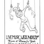 Ronny's Nov 21 Poster