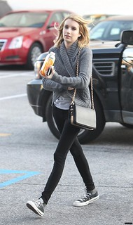 Emma Roberts Converse Celebrity Style Women's Fashion