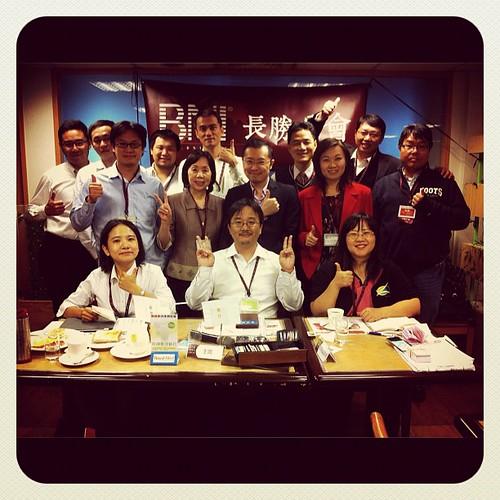 BNI長勝分會:早餐會會員們與來賓合照2012.11.06(二) by bangdoll@flickr
