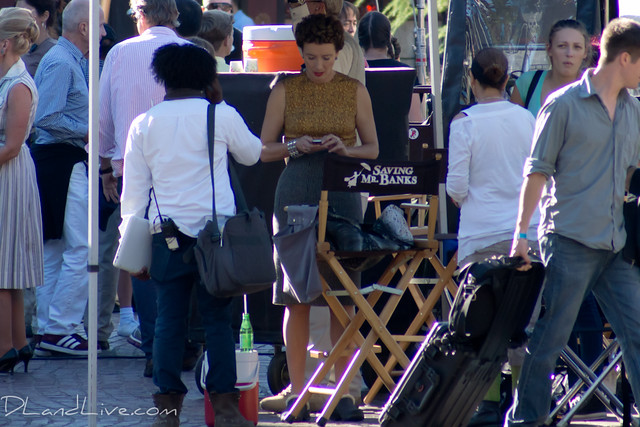 Saving Mr. Banks Filming at Disneyland