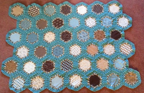 Hexagon Fusion Blanket