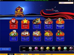7 Sultans Casino Lobby