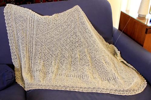 Last look at shawl