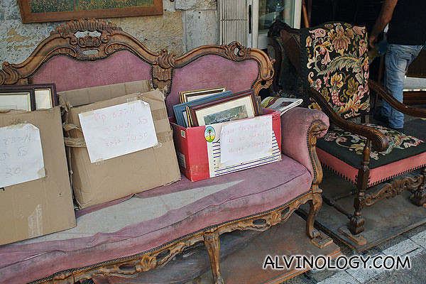 Old sofas for sale