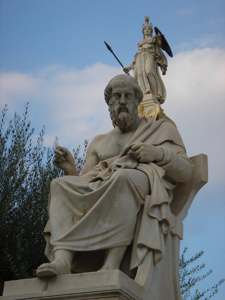ATENEA  Y  PLATÓN