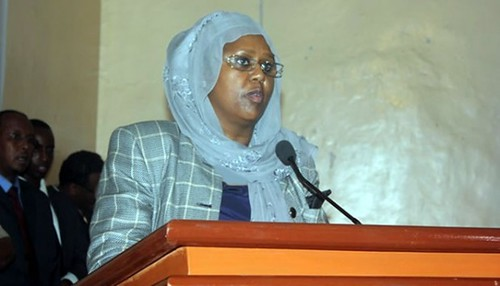 Fawiza Yusuf Haji Adam has been selected as the first deputy prime minister and foreign minister of Somalia. Somalia is being backed by the United States. by Pan-African News Wire File Photos