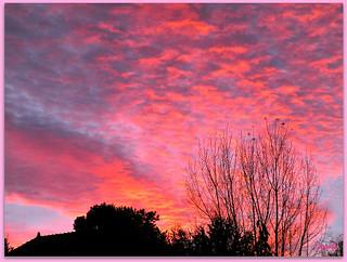 Un matin ... un ciel magique !