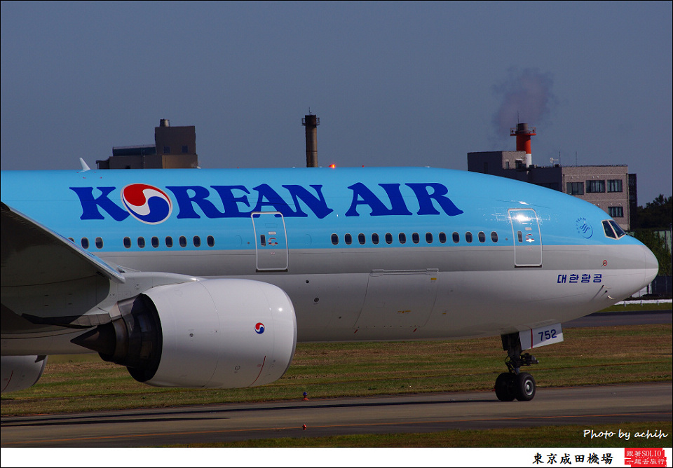 Korean Air / HL7752 / Tokyo - Narita International