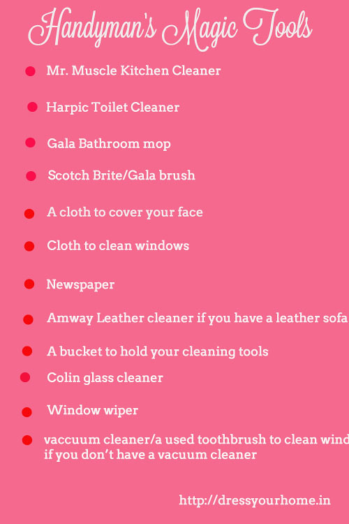 Diwali Cleaning A Housekeeping Checklist To A Spotless