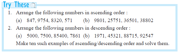 NCERT Class VI Mathematics Chapter 1 Knowing Our Numbers – AglaSem