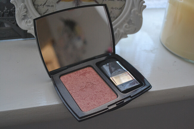 daisybutter - UK Style and Fashion Blog: Lancôme Blush Subtil in Shimmer Peach Fever, review, AW12