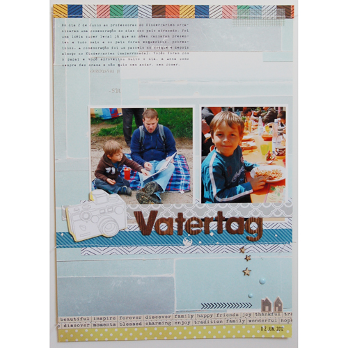 Father's Day *Studio Calico October Kit*