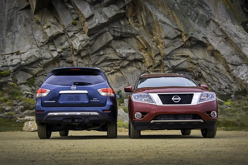 2014 NISSAN PATHFINDER SUV REDESIGN EXTERIOR PICTURE GALLERY