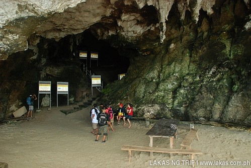 Registration Area at the Tabon Caves Complex at Lipuun Point, Quezon, Palawan