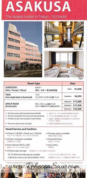 Daily Stay in Tokyo Sakura H-Hostel 8
