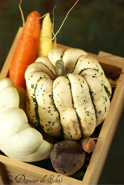 Courge patidou from the Farmer's Market