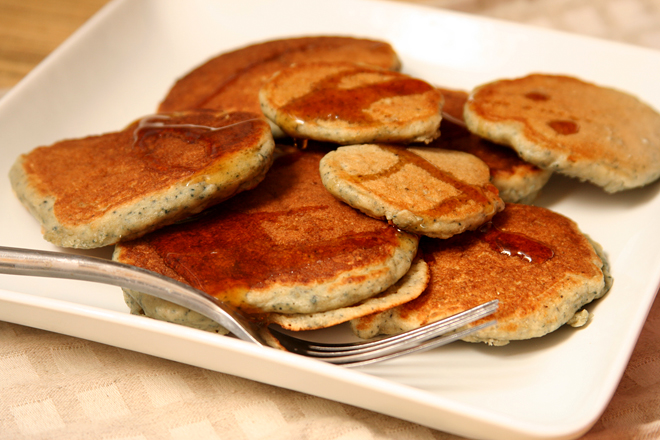 cornmeal molasses pancakes 7