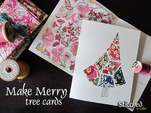 Make Merry cards {tutorial}