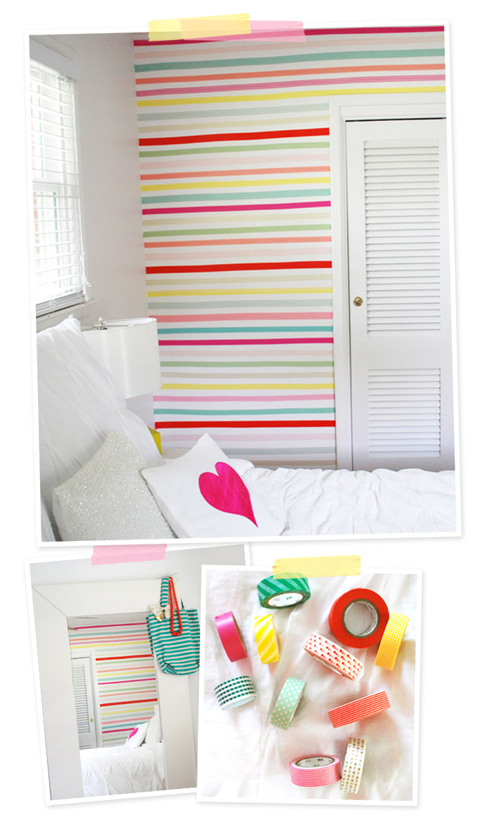 Masking Tape / Washi Tape Walls