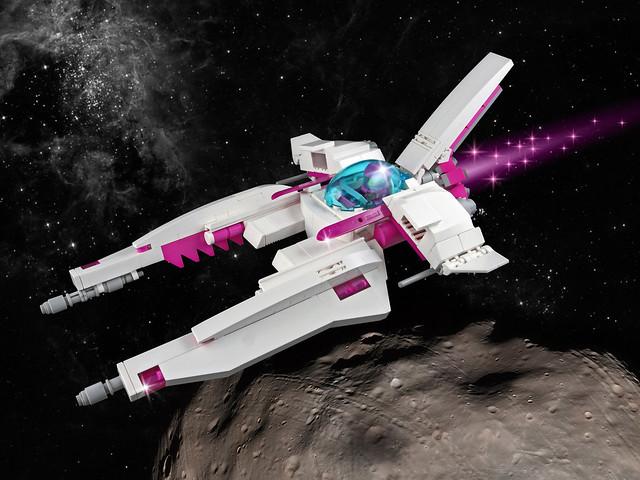 Vicky Viperetta Space Scene
