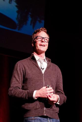 Jeff Veen speaking at Build