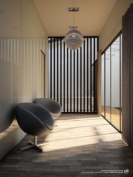 Master Bedroom_Dressing Room Corridor