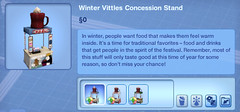 Winter Vittles Concession Stand