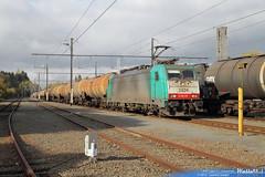 2824 sncb logistics ligne 117 ecaussinnes 7 novembre 2012