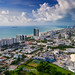 Miami Beach From the Air Facing South by Michael Pancier Photography