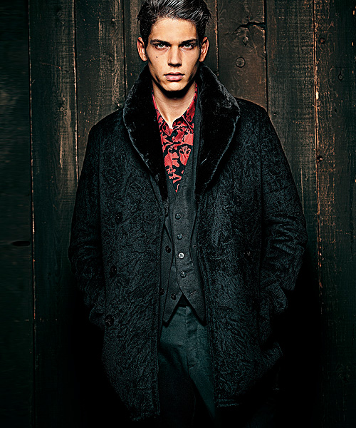 Ethan James0115_ROEN × semanticdesign Winter Collection 2012