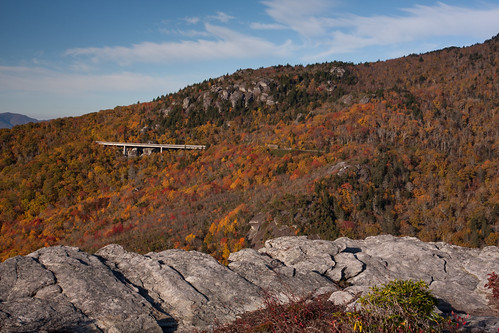 Lynn Cove Viaduct from Tanawaha Trail