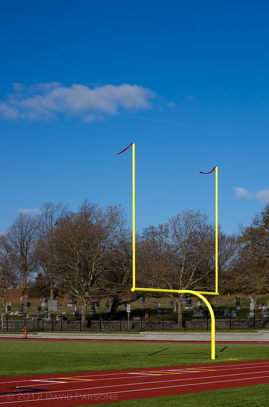 Faxon Field Goalpost