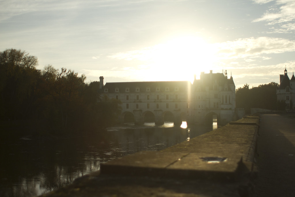 sunset at Chenonceaux 3