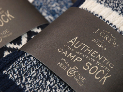 J.Crew / Camp Socks