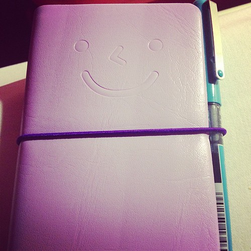 "My compliment & gratitude journal. ""If you laugh, tomorrow will be fun"". Smile!"