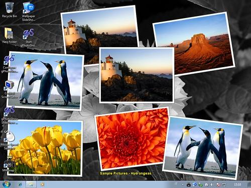 wallpaper slideshow flickr plugin on flickr application