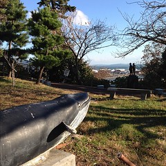 クジラは田代や網地島を見てたのかな。