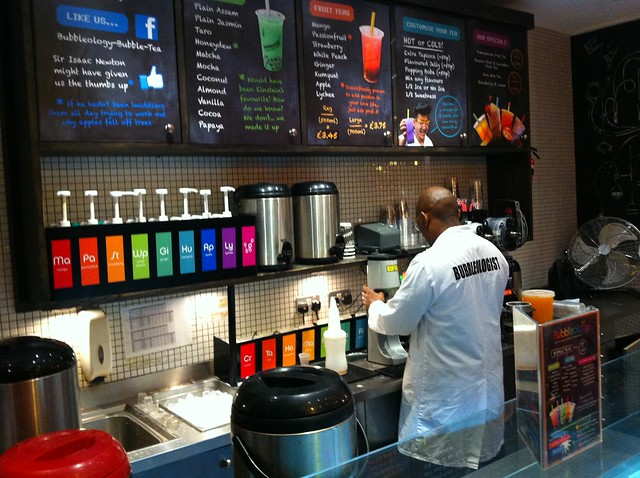 Bubbleology Bubble Tea Soho London