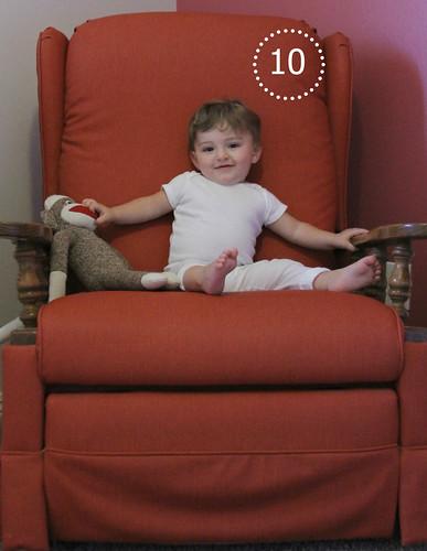 Alice Linda, 10 months