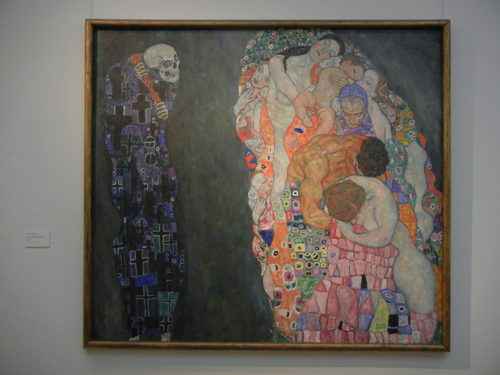 DSCN0969 _ Tod und Leben, 1910, Gustav Klimt, Leopold Museum, Wien