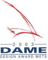 DAME 2003 logo
