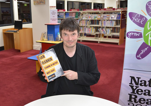 Ian Rankin at Mosman Library