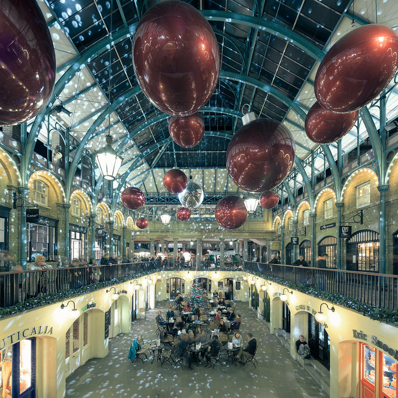 Christmas at Covent Garden.