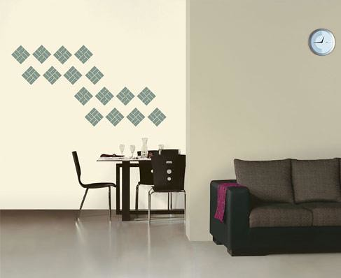 Asian paints signature walls stencil design flickr photo sharing for Wall designs for living room asian paints