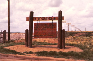 Wyoming   -   Hell's Half Acre   -   May 1976