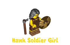 LEGO Minifigures Series 10 -  Hawk Soldier