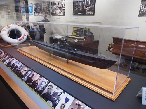 Pearl Harbor Historic Sites - USS Bowfin Submarine Museum - 模型