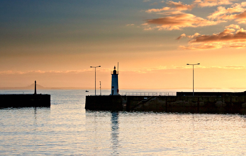 Winter sunset ( Anstruther)