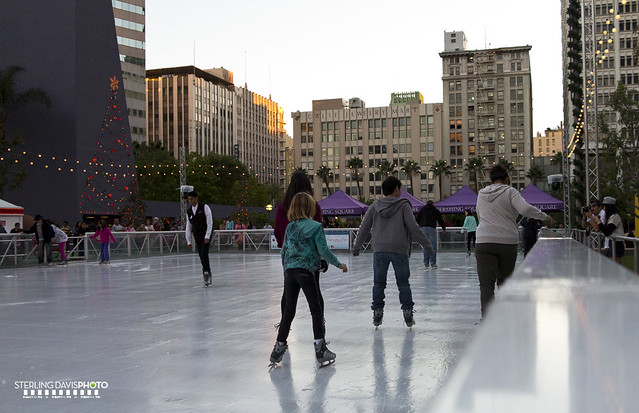 pershing square ice skating flickr photo sharing. Black Bedroom Furniture Sets. Home Design Ideas