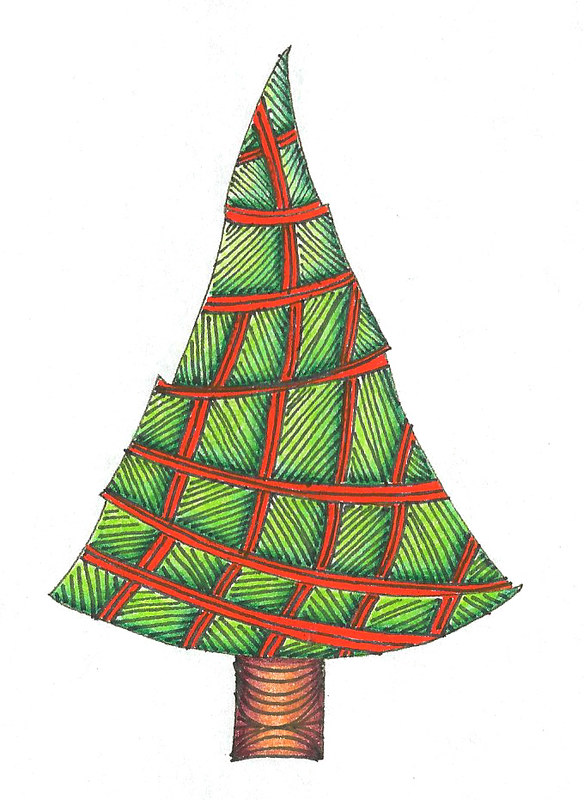 Tri-Linez Christmas Tree Sampler